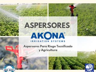 ASPERSORES DE NUESTRA MARCA EXCLUSIVA AKONA!
