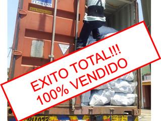 EXITO TOTAL: 100% VENDIDO