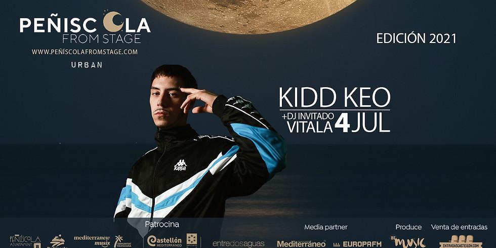 Peñíscola From Stage   KIDD KEO + Vitala