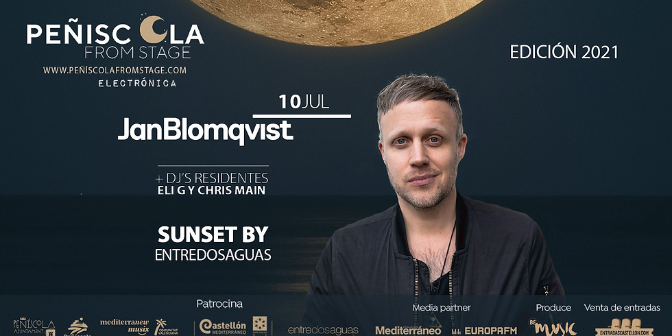 Peñíscola From Stage |  JAN BLOMQVIST