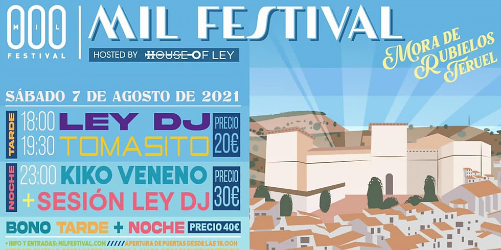 HOL | Mil Festival - Ley DJ, Kiko Veneno, Tomasito