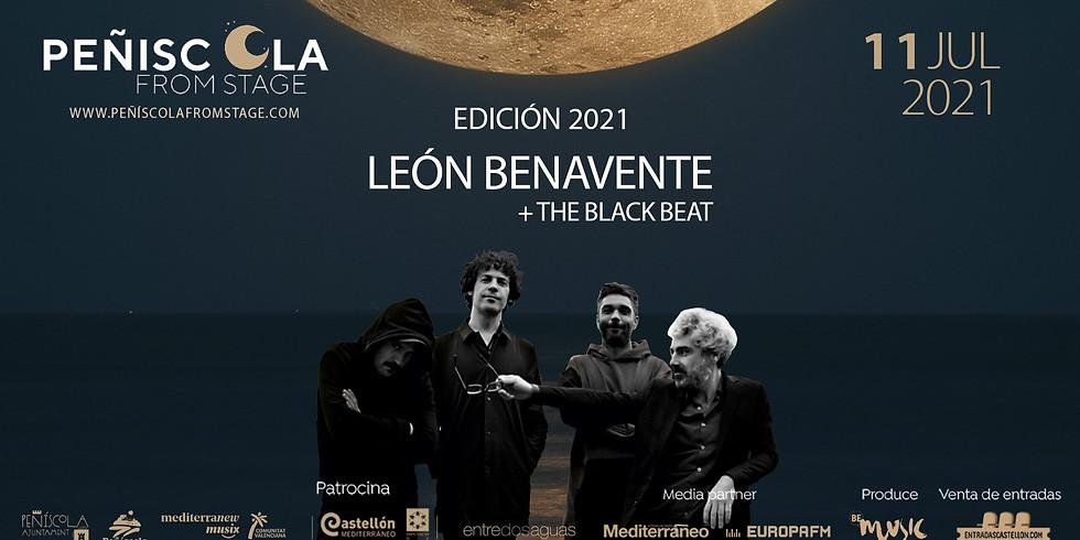 Peñíscola From Stage    LEÓN BENAVENTE