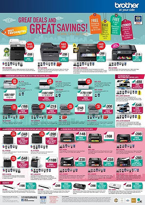 Votech Computer Supplies - Brother Promotion