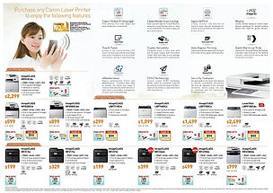 Votech Computer Supplies - Canon Promotion