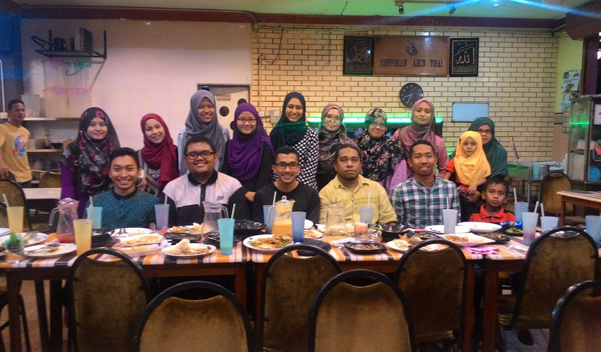 Iftar with UITM Students