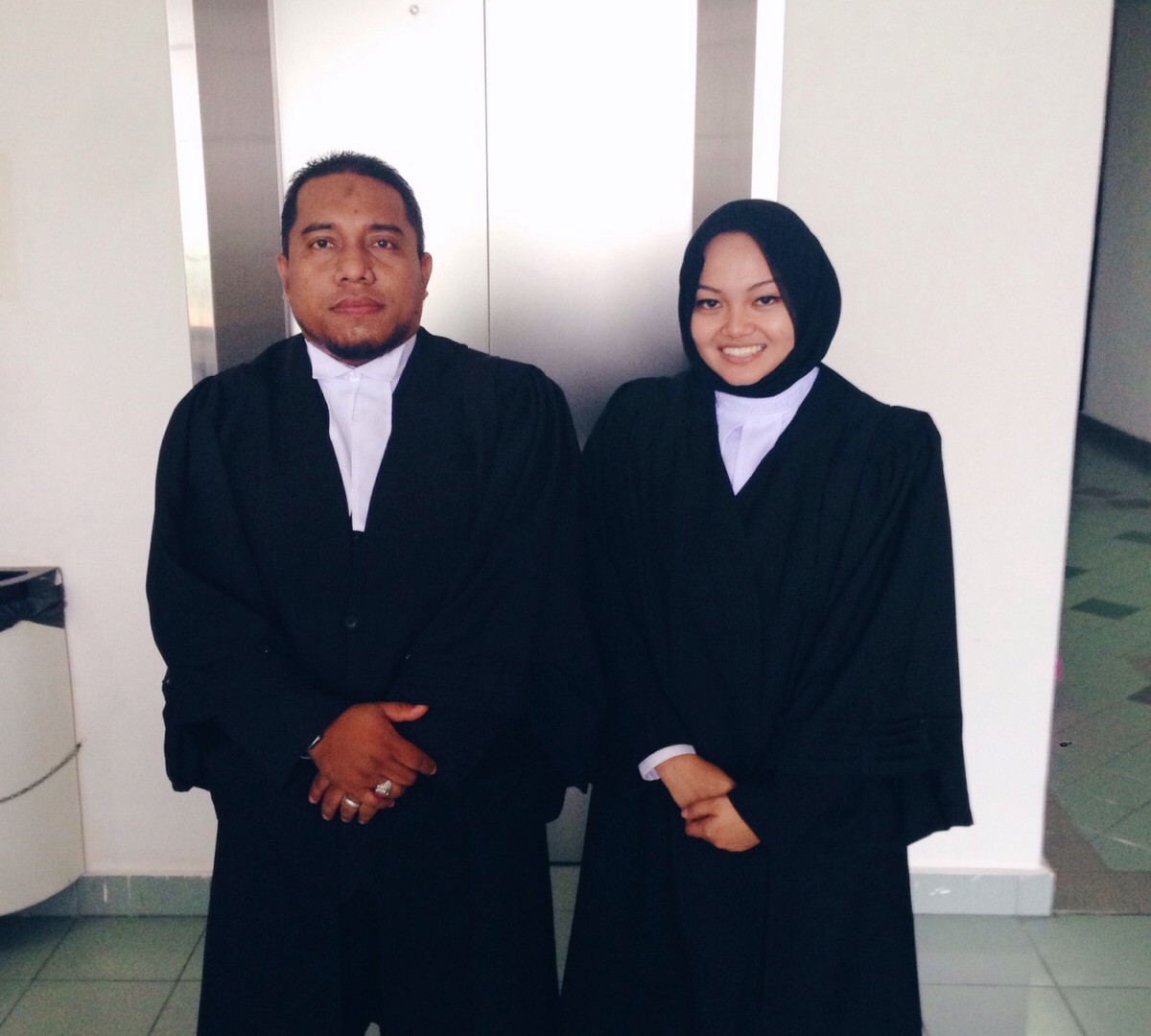 Our lawyer, Haselyn
