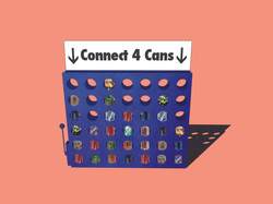 'Connect 4' Cans