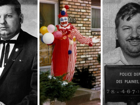 The most unfunny clown of all time- John Wayne Gacy