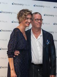 Ernst Knam e Alessandra Mion