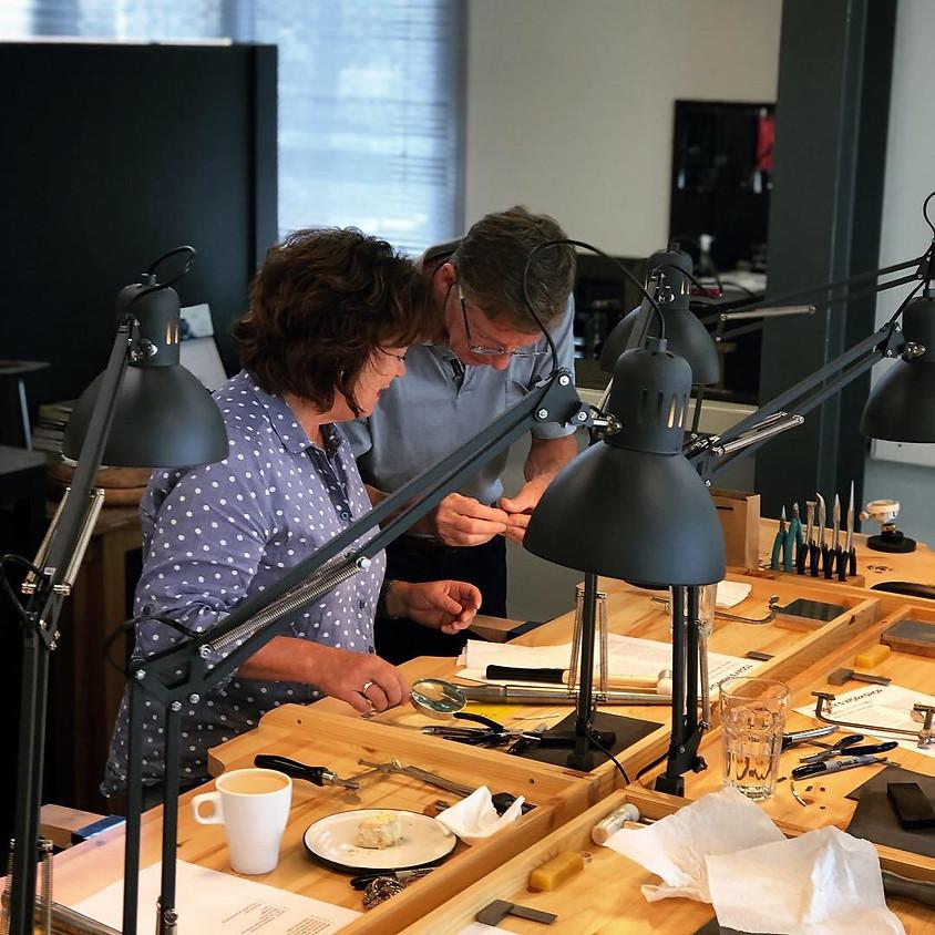 Intermediate jewellery class with Michel Vermande