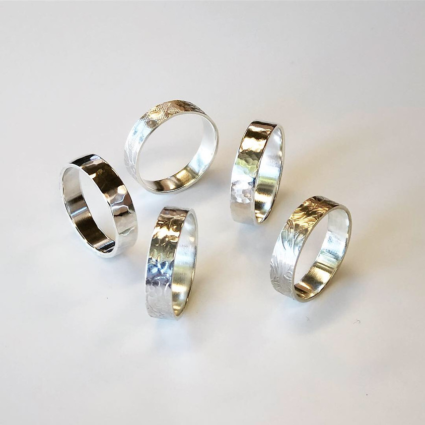 Sterling silver ring workshop - May 2019
