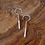 Thumbnail: 'Pendulum' earrings - small hook