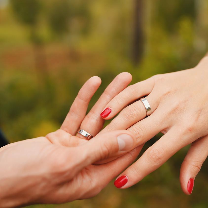 Wedding ring workshop - RESERVED for Sarah Martins
