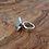 Thumbnail: 'Moar' ring with grey resin