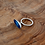 Thumbnail: 'Aalto' ring with blue resin