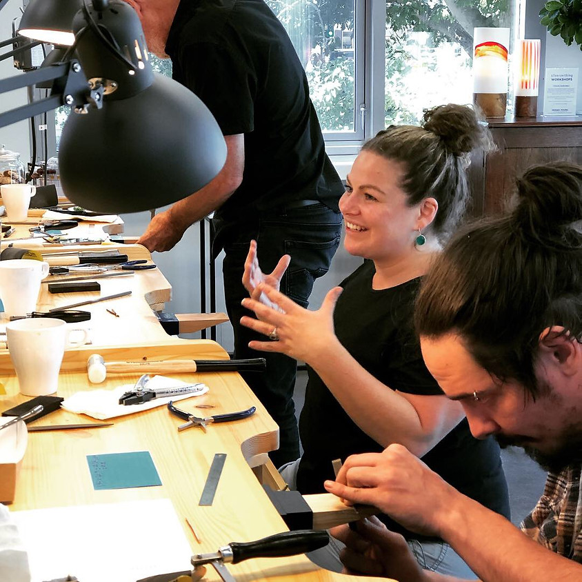 SOLD OUT - Silversmithing essentials programme
