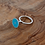 Thumbnail: 'Vessel' ring with aqua resin