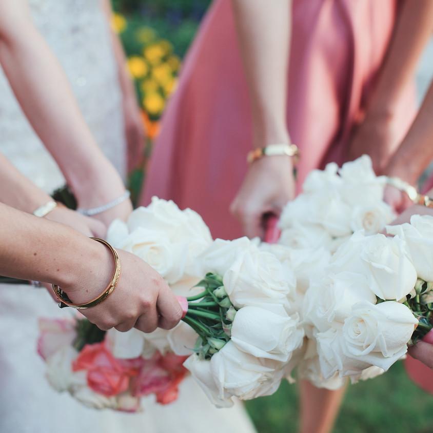 Bridesmaid's silver bangle workshop
