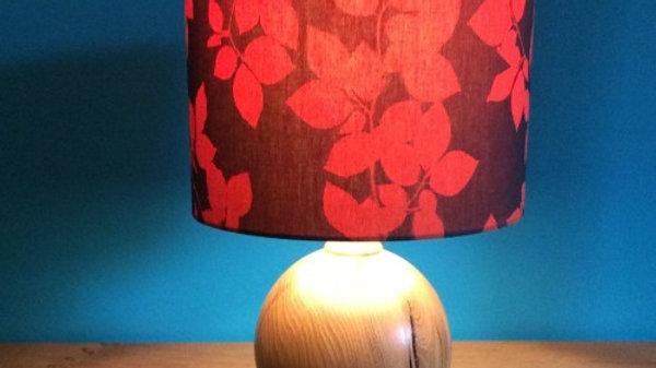 Hand made Terracotta Beech Leaves Sun Printed Lamp Shade
