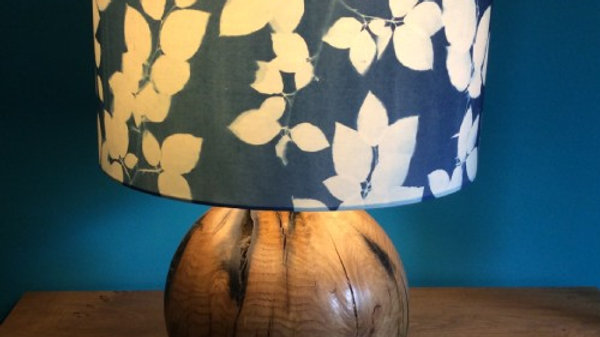 Unique Sun Printed Beech Leaves 40 cm Lampshade
