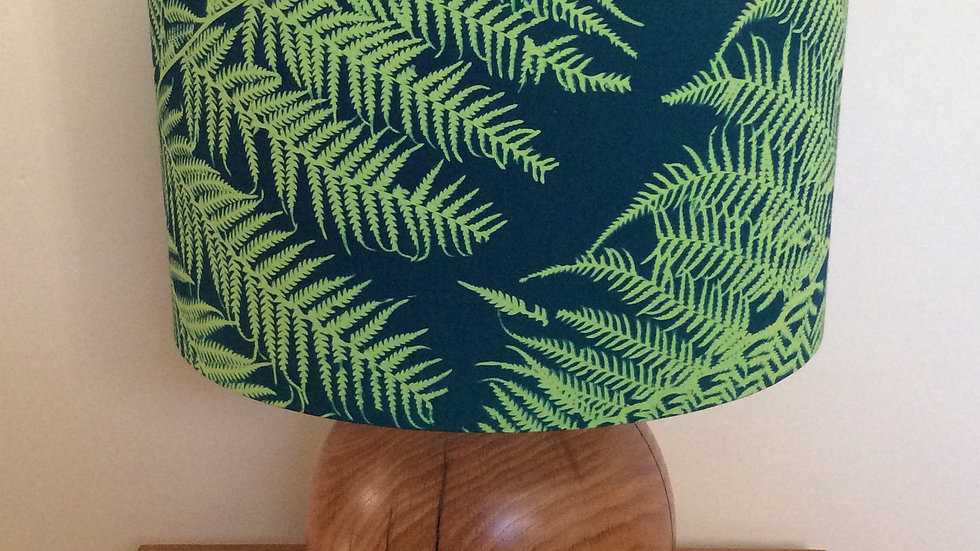 Green Fern Lampshade