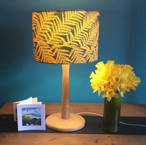 Gold Sunprinted lampshade.jpg