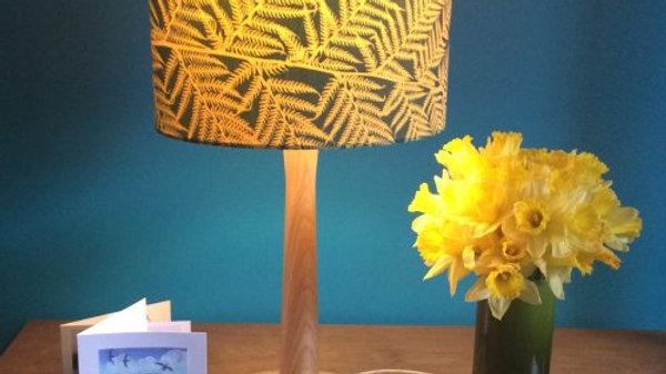 Sun Printed Handmade Gold Lampshade