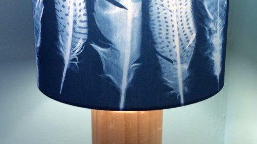 Unique Feather  Sun Printed Lampshade