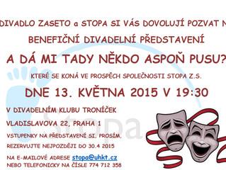 Benefiční představení divadla Zaseto pro Stopu z.s.