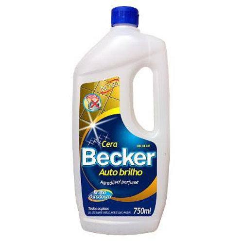 Cera Becker Auto Brilho 750ml