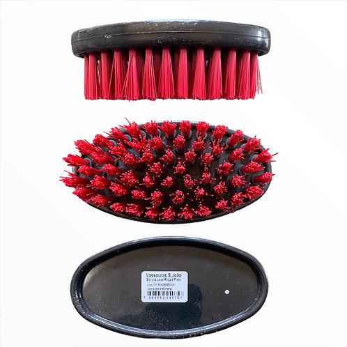 Escova Oval de Nylon Plástica