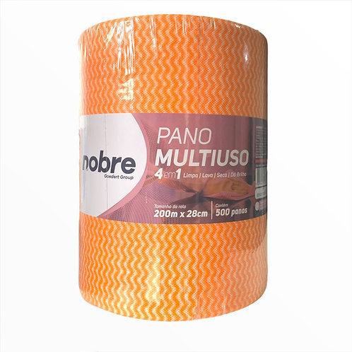 Pano Perfex Multiuso 4 em 1 -200m x 28cm  - Limpa/Lava/Seca/Dá Brilho - Nobre