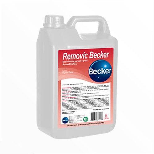 Desinfetante Removic Becker Floral Concentrado 5L