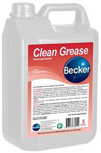 Desengraxante neutro Clean Grease 5L - Becker