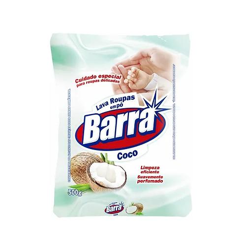 Sabão Lava roupas em pó Coco Barra - 500g