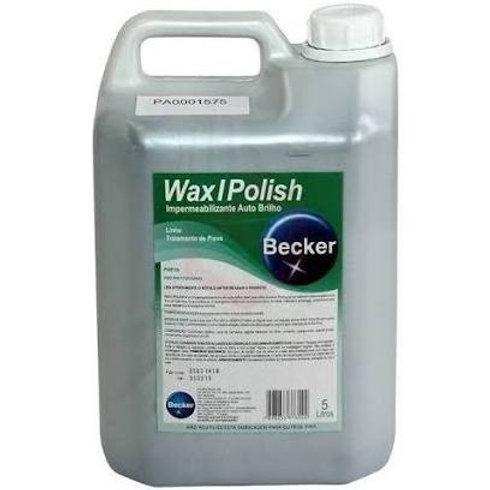 Cera Preta Wax I Polish 5L - Becker