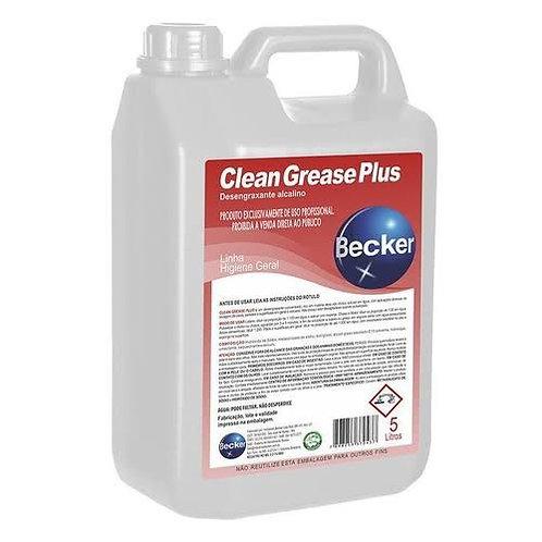 Detergente Desengraxante Alcalino Clean Grease Plus 5L - Becker