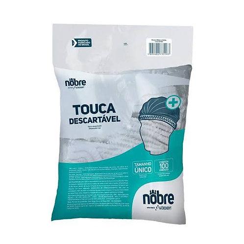 Touca Descartável TNT C/100UN - Nobre