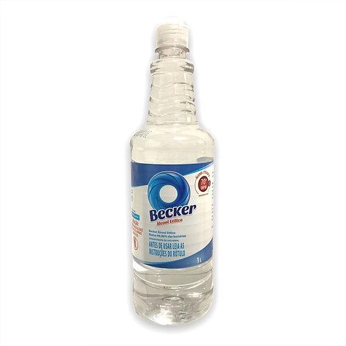 Álcool etílico à 70º INPM - Becker 1 Litro