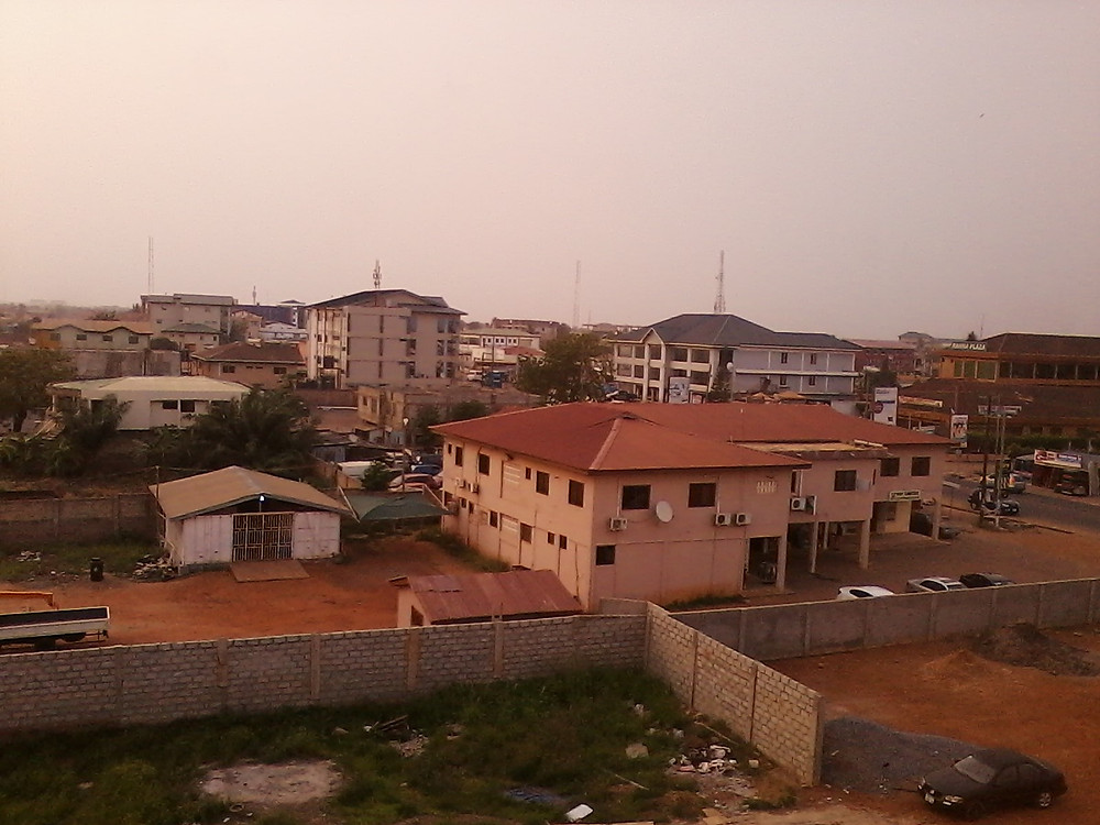 Accra from a few floors up