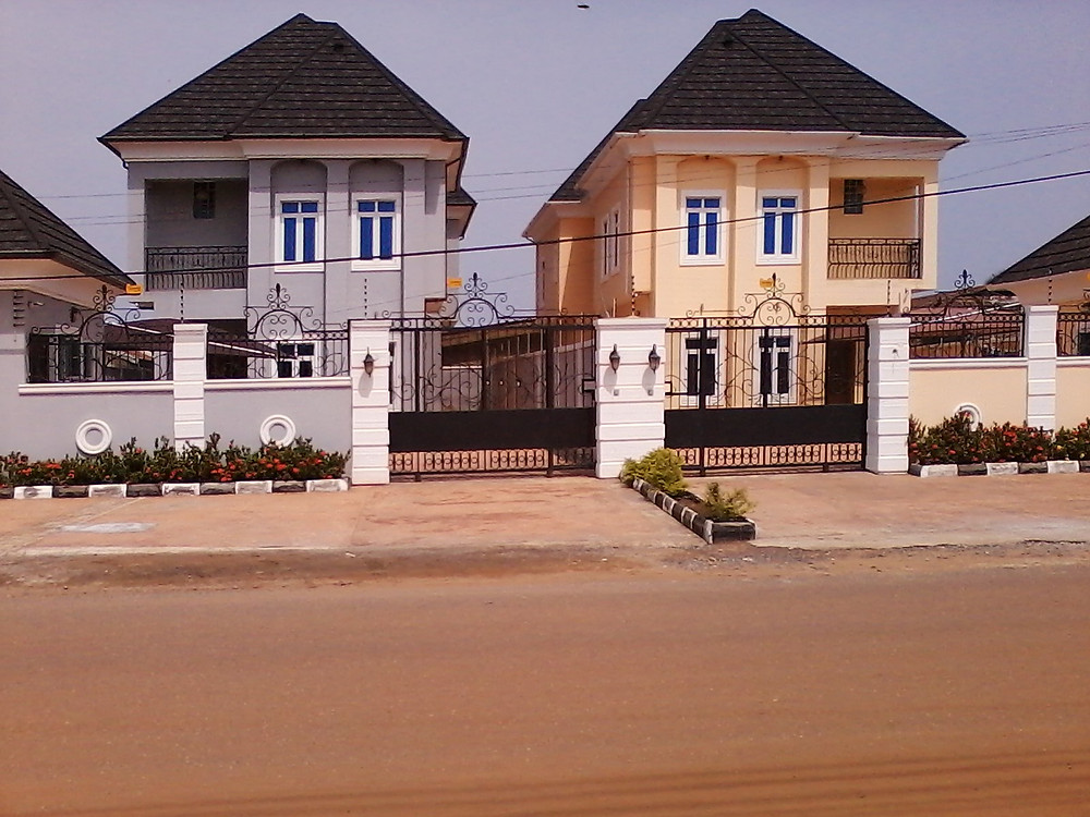 Some nice houses in Accra