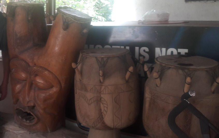 Drums at Akasumbo