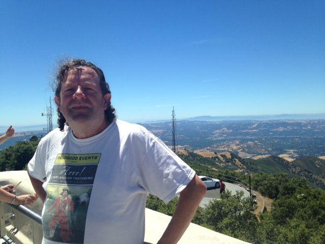 Jonesey atop Mount Diablo