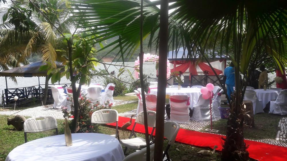 the wedding preparations