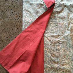 Vintage kimono (autumn colours in small pattern, red lining)