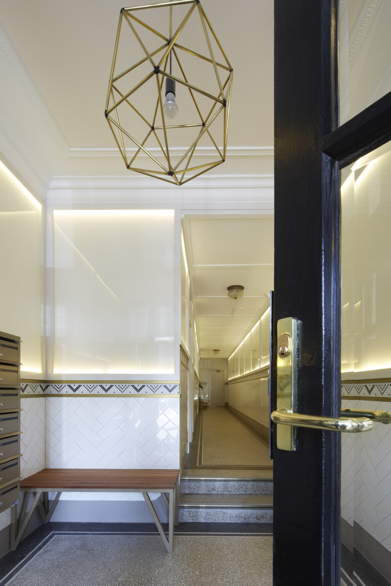 Darlinghurst apartment block foyer renovation