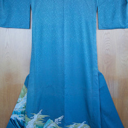 Wave kimono