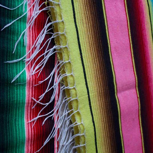 Woollen mexican blankets