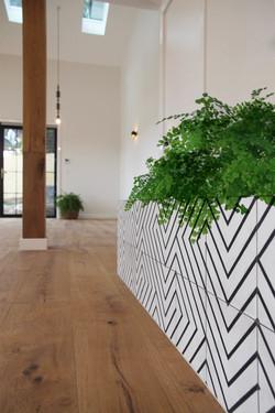 Thornleigh planter box to post
