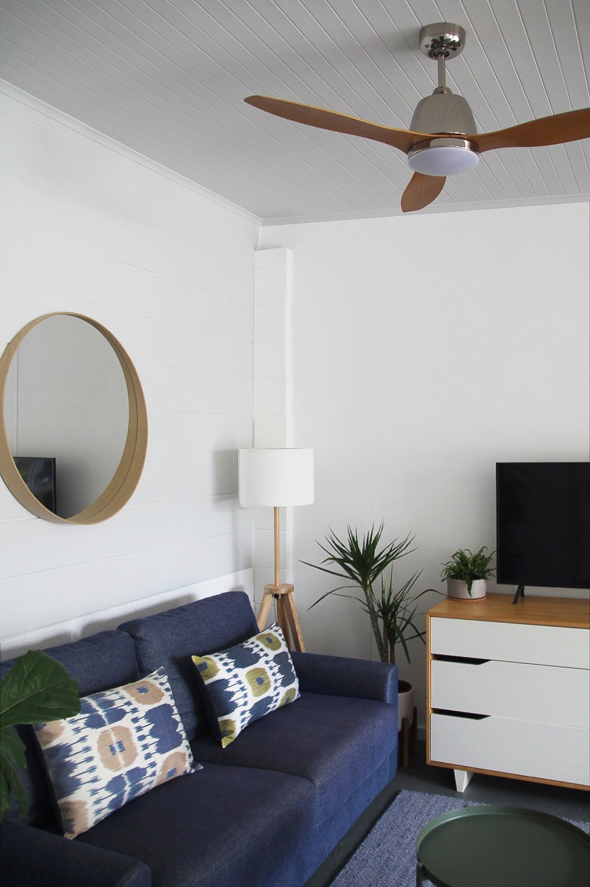 living corner from bedroom